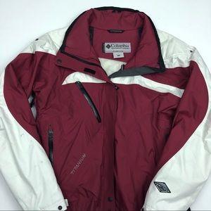 Vintage Columbia Titanium Omni Tech Jacket Large